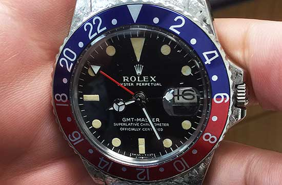 Don Richardson Rolex GMT Master